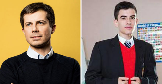Democratic Candidates as Porn Stars - Pete Buttigieg as Jordi el Nino Polla