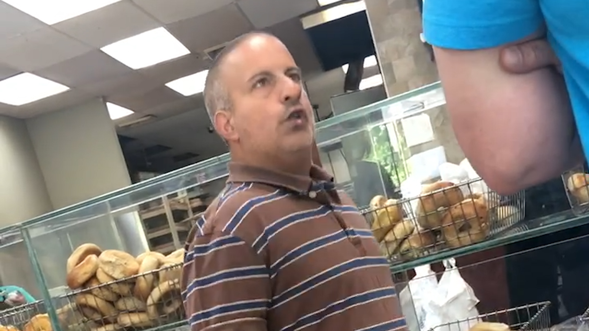 The Bagel Boss Chris Morgan got into another fight