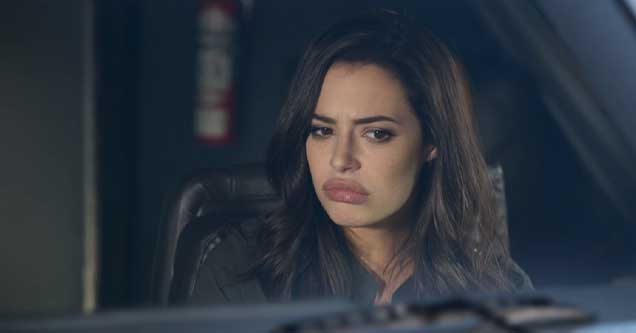 Still frame of Chloe Bridges in Airplane Mode