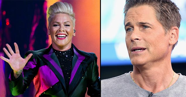 Pink and Rob Lowe are among a long list of high profile celebrities that fell for and reposted the same Instagram copypasta hoax.