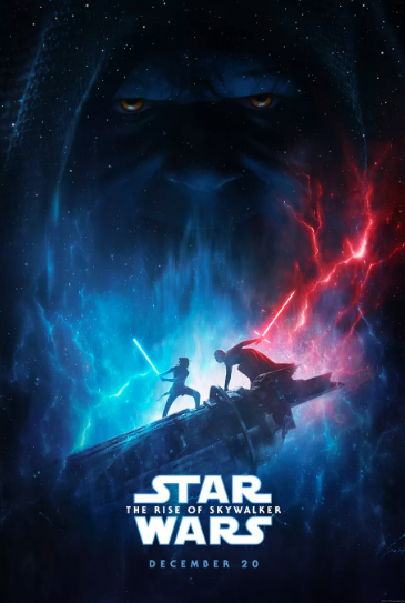 Star Wars: The Rise of Skywalker first official movie poster