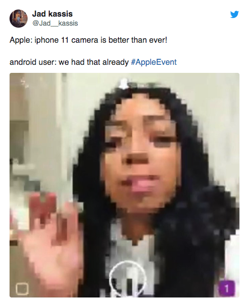 iPhone 11 memes making fun of how ugly the new phone is