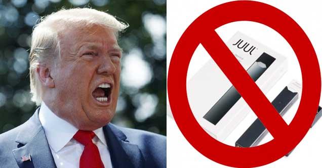 President Trump vs Juul E-cigs