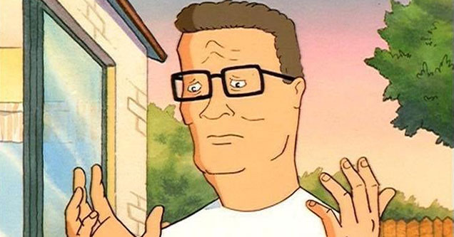 The Hank Hill starter pack to make you say Oh Bobby