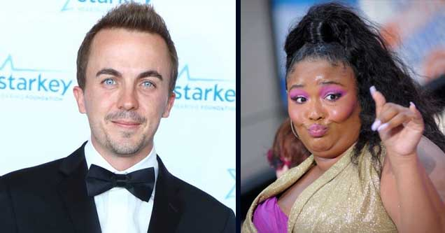 Frankie Muniz and Lizzo