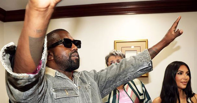 If you don't know by know by now Kanye West only cares about one thing and that's himself. Mr West, is known for doing some pretty outlandish things in the weeks and months leading up to his album releases.