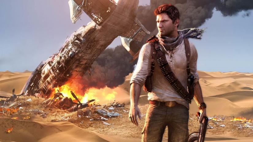 ps5 gameplay footage of uncharted