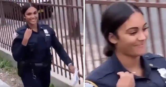 sexy lady cop