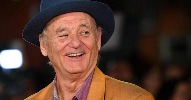 Actor Bill Murray