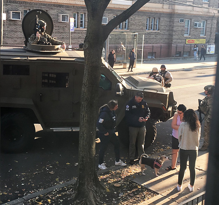 Department of Homeland Security raid in queens freaks people out