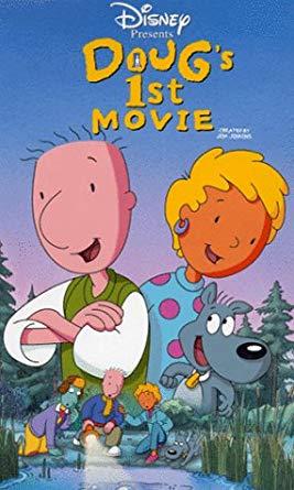 Doug's 1st Movie on Disney Plus.
