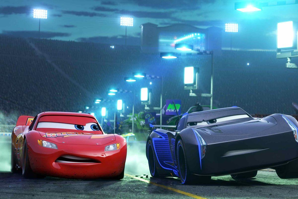 Cars 3 on Disney Plus.