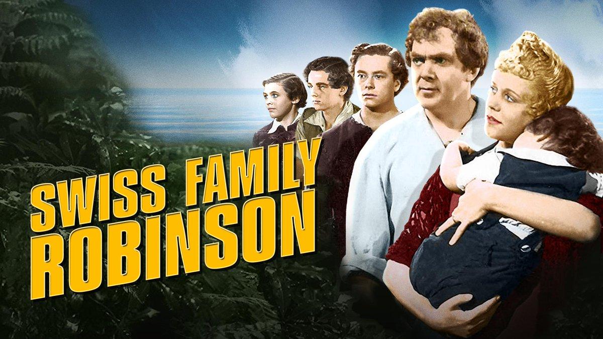 Swiss Family Robinson on Disney Plus.