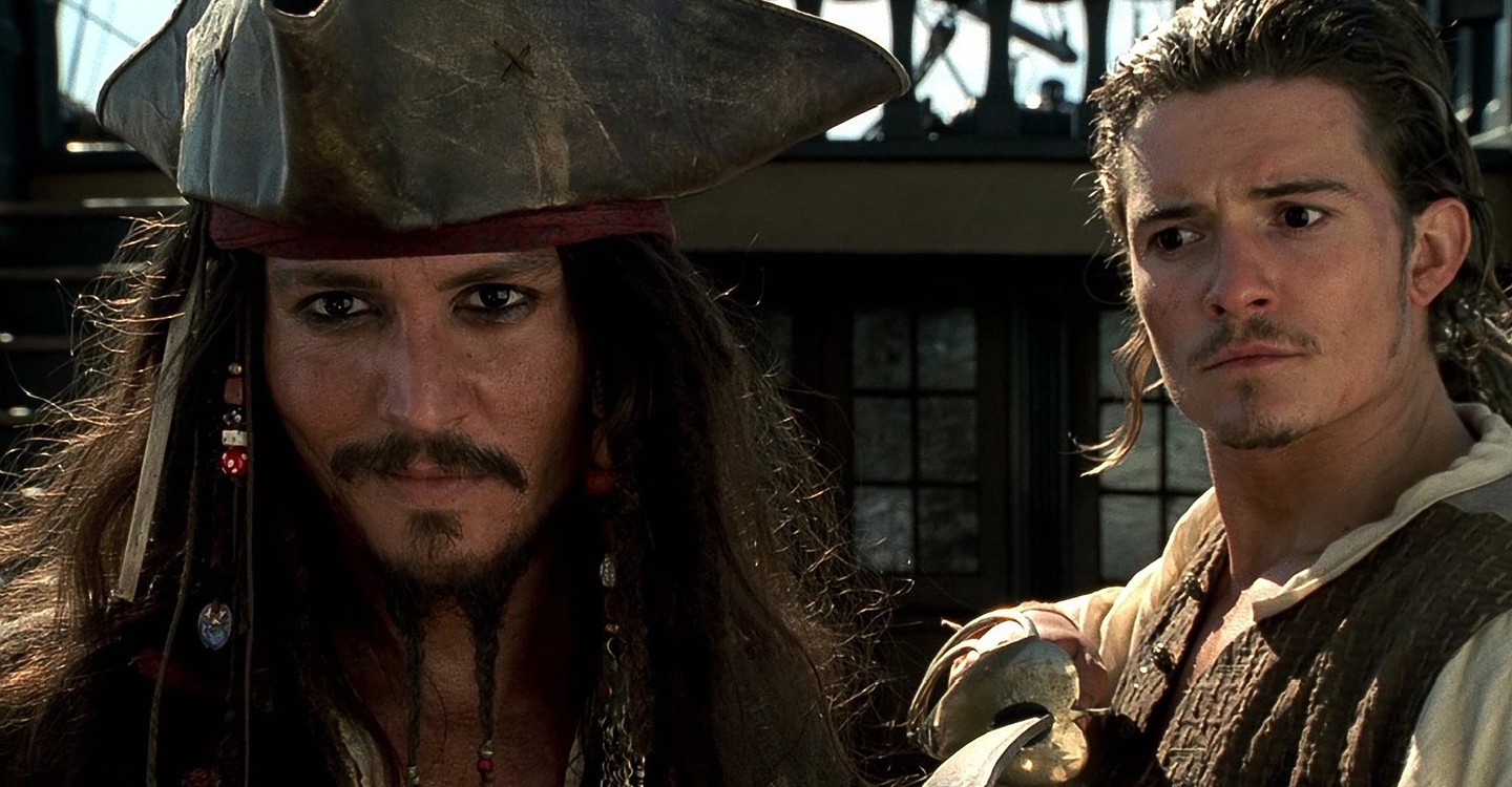 The Pirates of the Caribbean: The Curse of the Black Pearl on Disney Plus.
