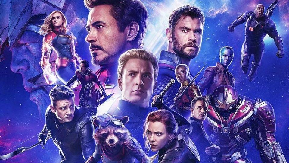 Avengers: Endgame on Disney Plus.