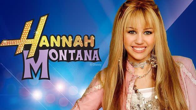 Hannah Montana streaming on Disney Plus.