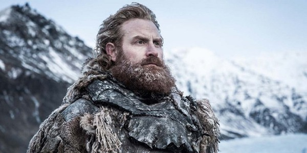 Kristofer Hivju playing Tormund Giantsbane in HBO's Game of Thrones claims there was a alternative ending to the series that was 'fun'..