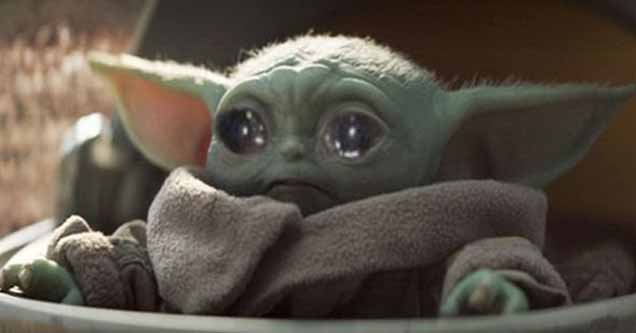 sad Baby Yoda
