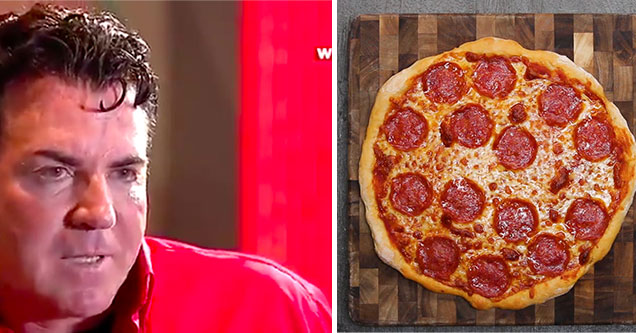 Papa John says he's going to eat 50 pizzas in 30 days to start the new year