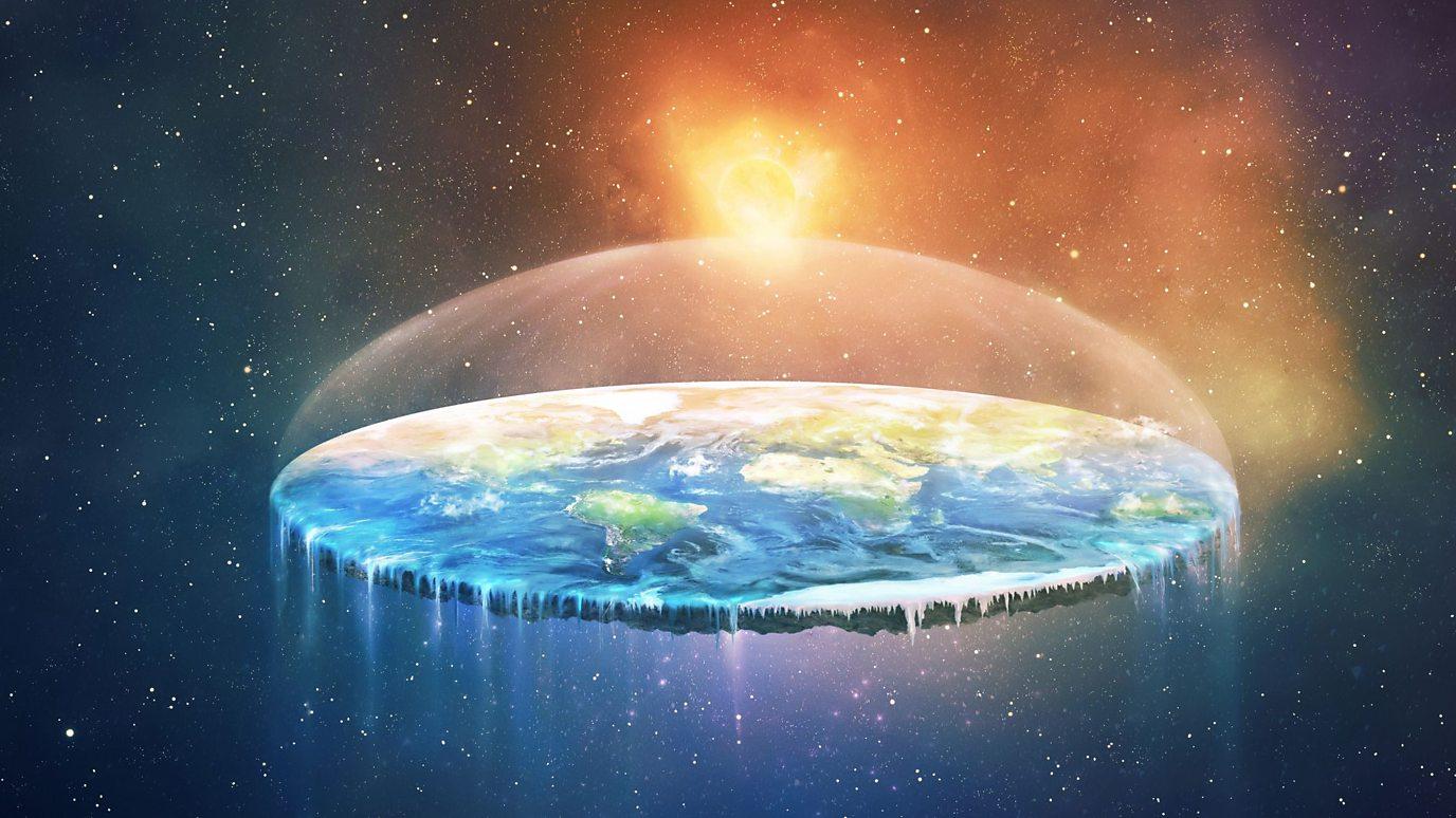 Flat Earth, baby.