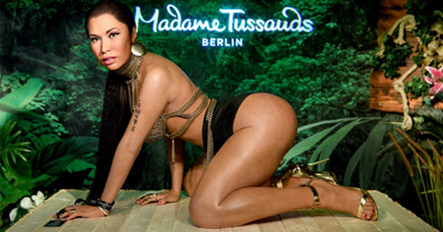 Nicki Minaj wax statue