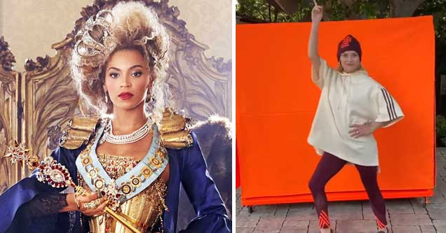 Reese Witherspoon reacts to free clothes from Queen Bey herself