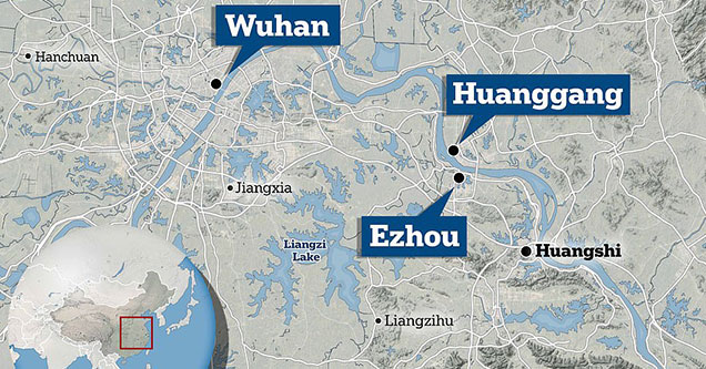 Chinese authorities had begun to quarantine Wuhan, Ezhou, and Huanggang, as the deadly coronavirus has infected over 600 people and killed 17 worldwide.