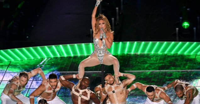 Jennifer Lopez causes some controversy with her super bowl performance