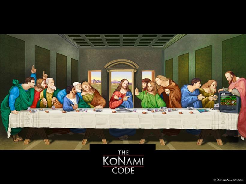 Konami Code poster - Kazuhisa Hashimoto