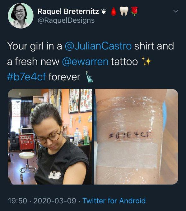 elizabeth warren tattoos, liberty green, hex code