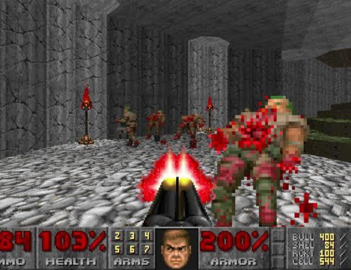 Play Doom II: Hell on Earth thanks to archive.org.