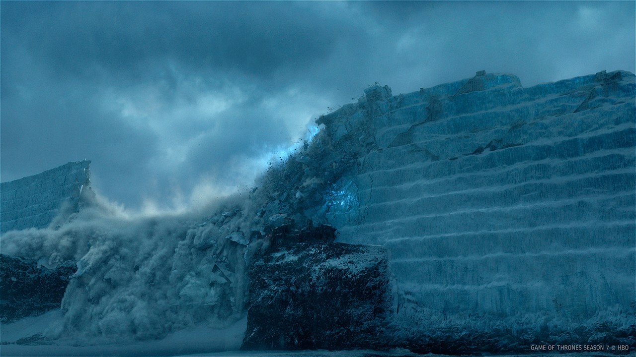 breaching of the wall game of thrones