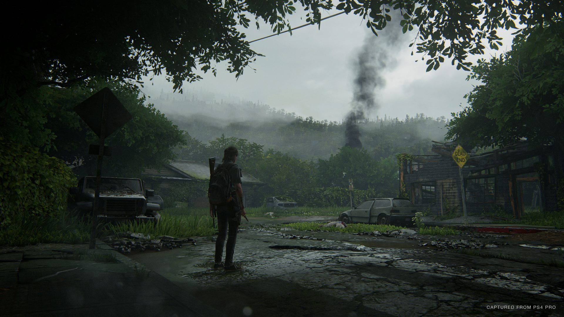 Game footage from The Last of Us II which has been indefinitely delayed