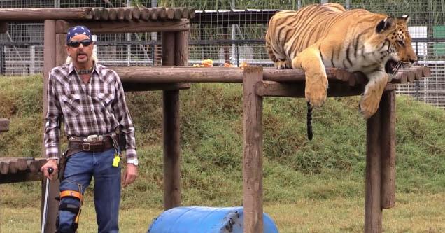 Joe Exotic from 'Tiger King'