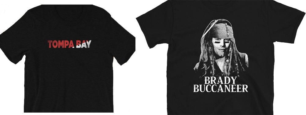 bootleg tompa bay tom brady brady buccaneer tampa bay buccaneers t-shirts