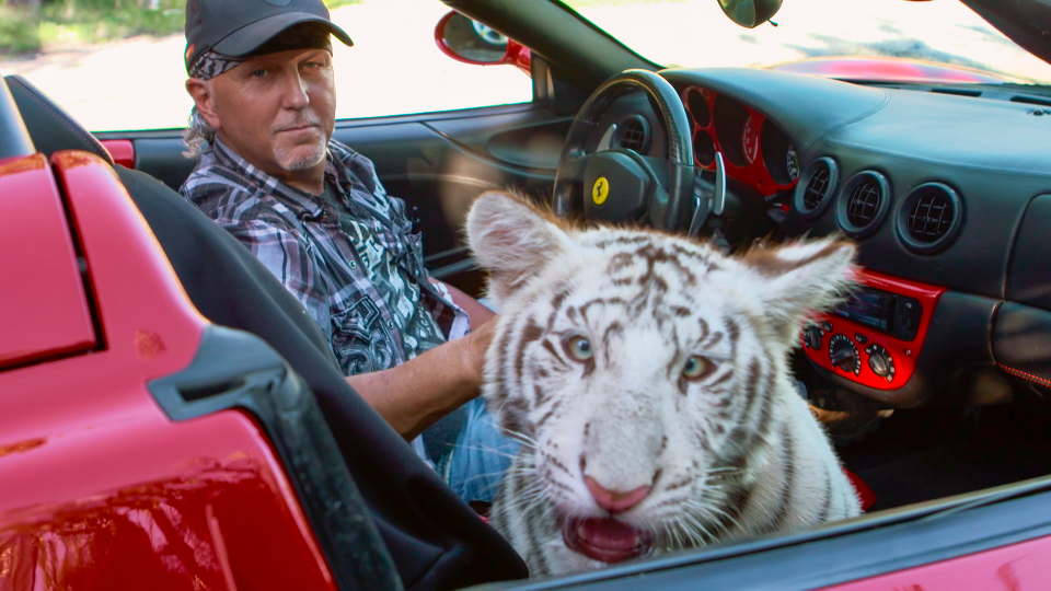 jeff lowe and white tiger