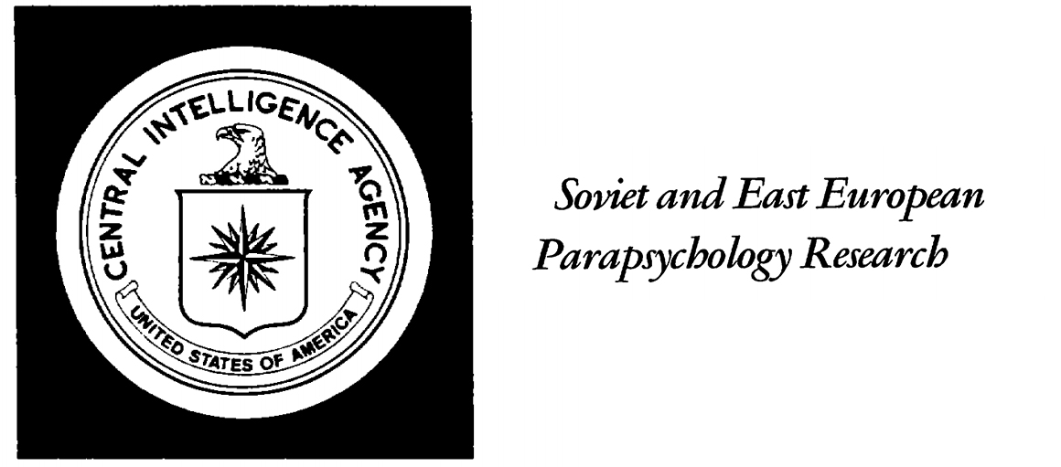 cia document soviet and east european parapsychology research