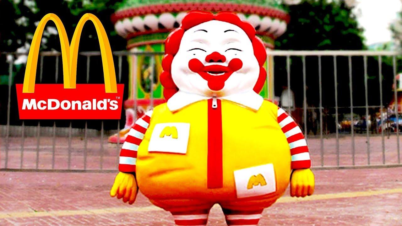 ronald mcdonald mcdonalds statue in china