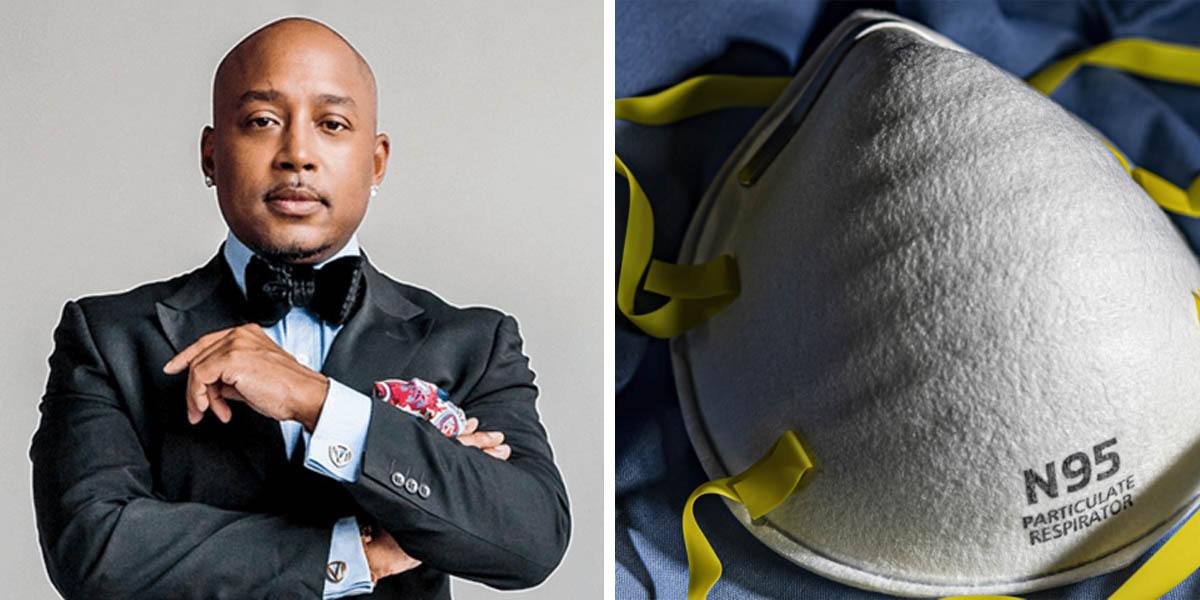 Daymond John accused of price gouging n95 masks
