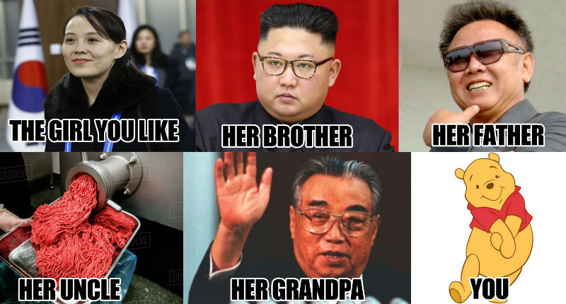 Sex Memes For Kim Jong Un S Sister Are Here And They Re A Train