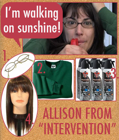 I'm walking on sunshine! allison from intervention