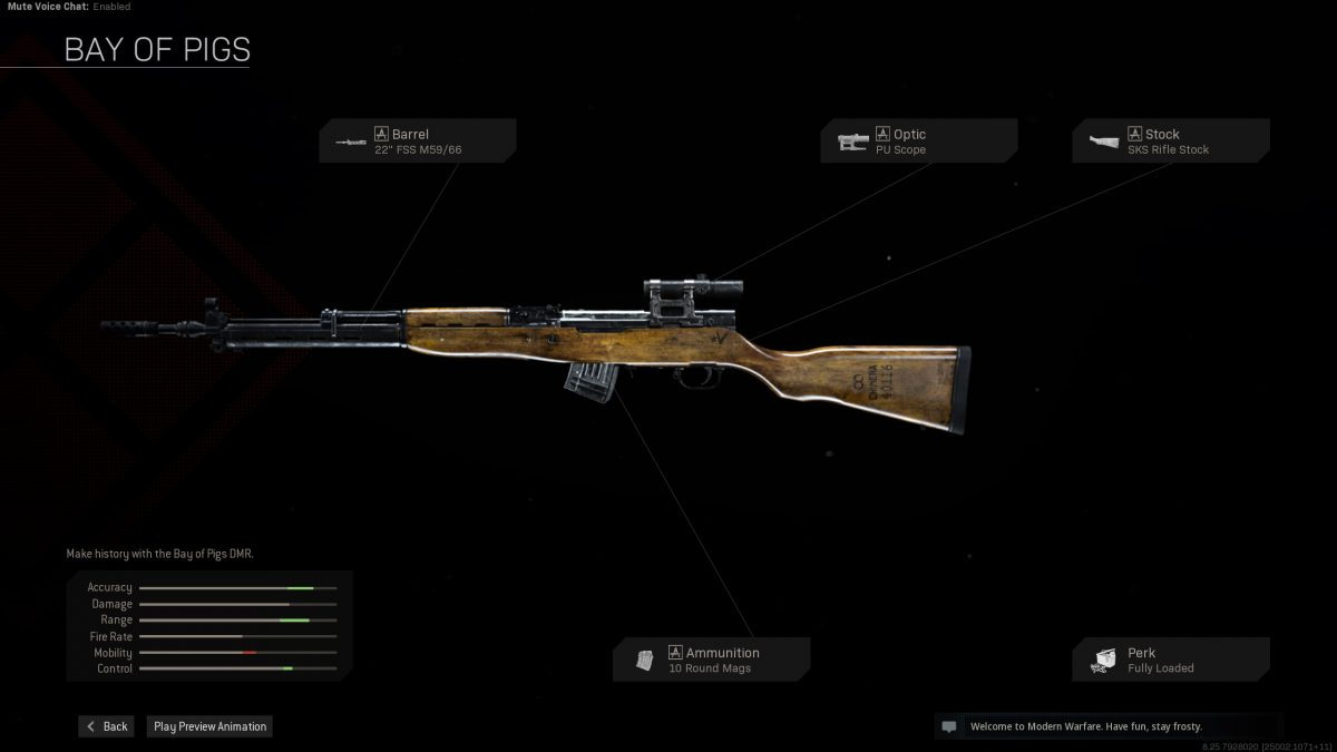 call of duty black ops cold war bay of pigs rifle