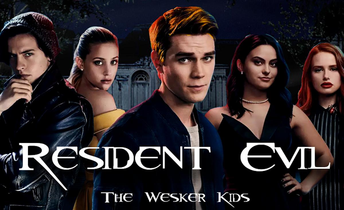resident evil the wesker kids