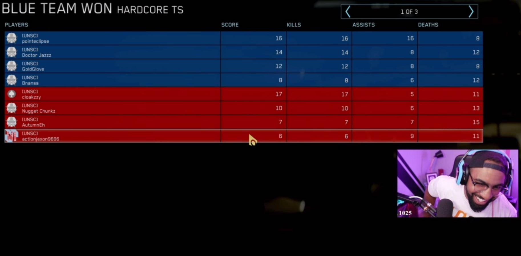 bud light battle of the best scoreboard video game