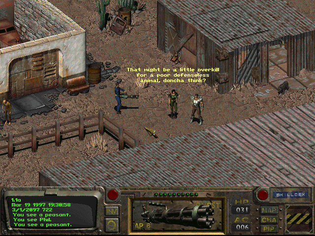 fallout 1 video game