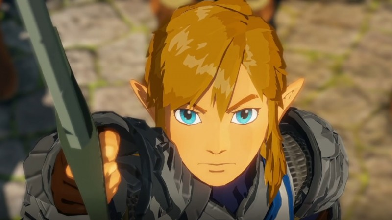 link hyrule warriors age of calamity