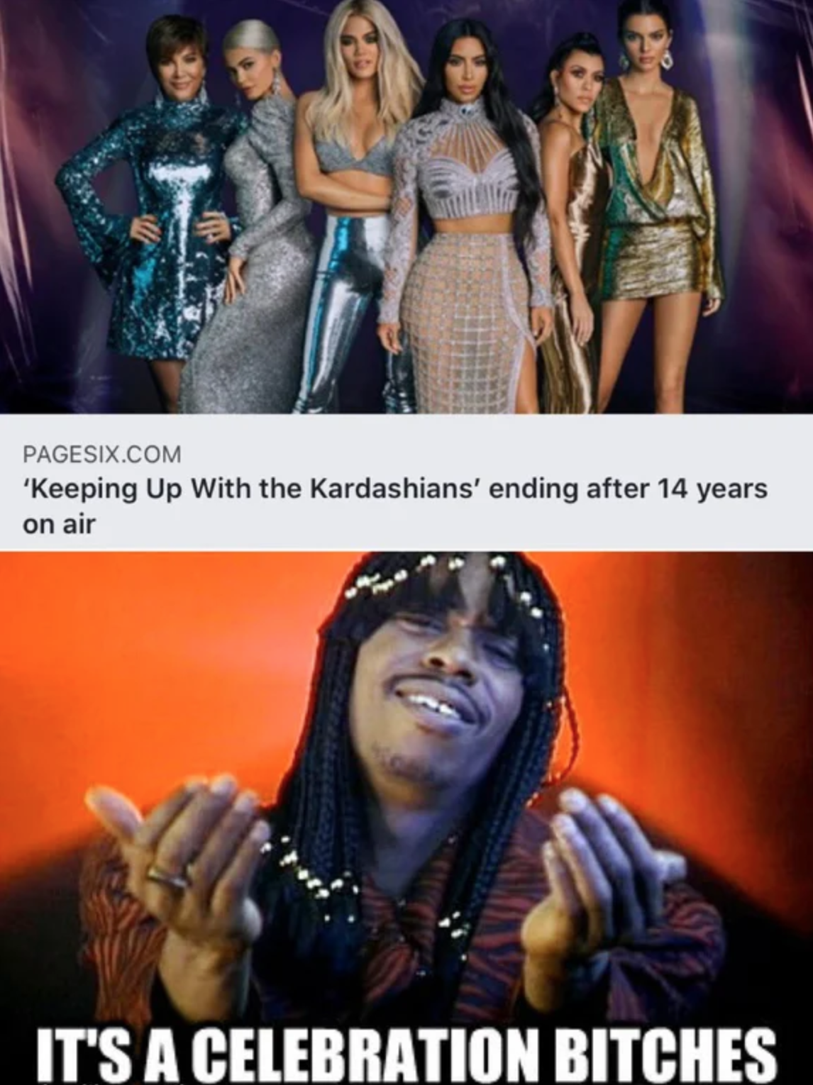 Keeping Up With The Kardashians ending after 14 years -  its a celebration bitches