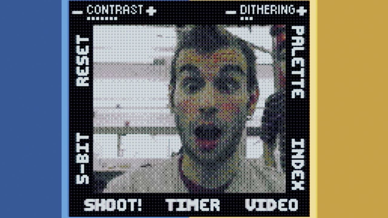 game boy camera webcam