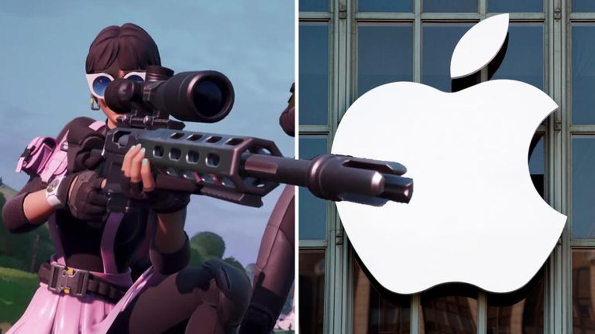 fortnite epic games versus apple app store