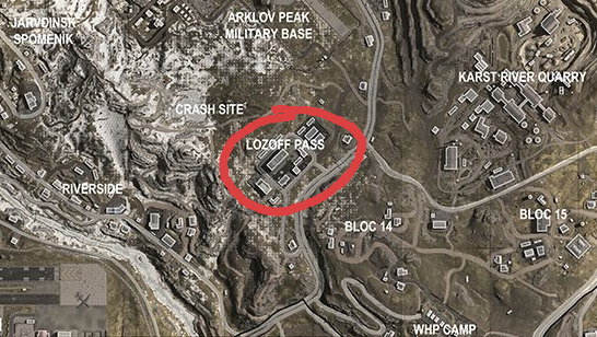call of duty warzone video game drop spots